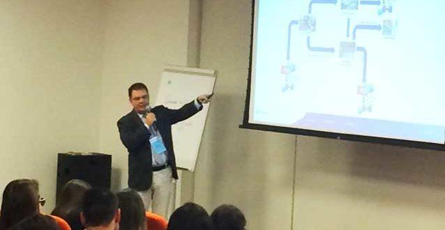 Mario Brenga Giampietro na Conferência Internacional de Integridade de Dados