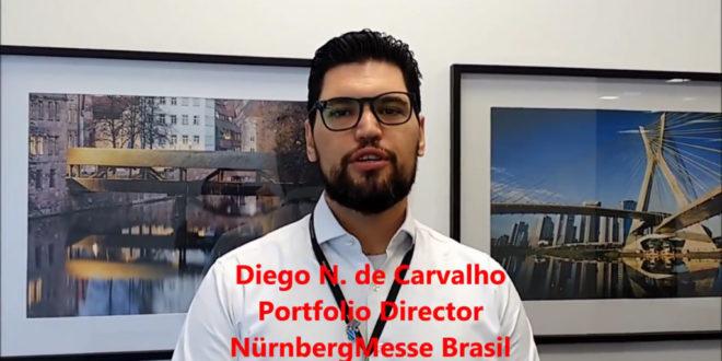 Diego da NürnbergMesse Brasil concede entrevista exclusiva – fevereiro 2018.