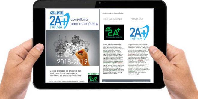 """Últimos dias de inscrição com valor promocional:  """"GUIA ANUAL 2A+ FARMA 2018/2019 – CONSULTORIA PARA AS INDÚSTRIAS"""""""