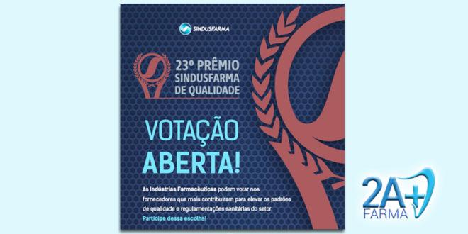 Prêmio Sindusfarma de Qualidade 2019: Início da etapa de votação