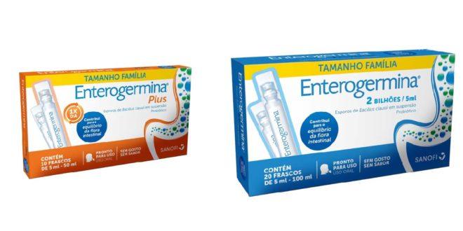 Enterogermina lança embalagens tamanho família
