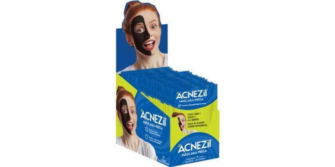 Cimed lança Acnezil Máscara Preta para remoção de cravos