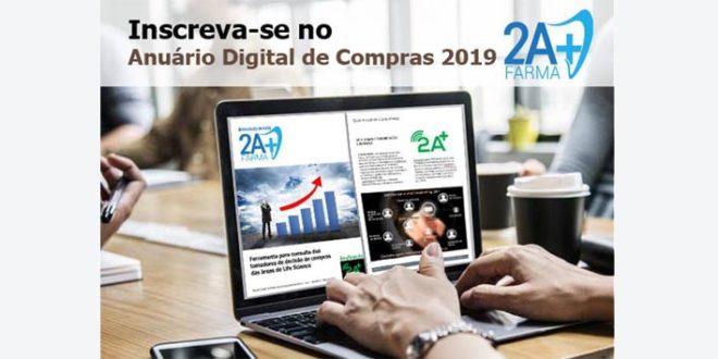 Veja as opções de participação e inscreva-se já no Anuário Digital de Compras 2019 2A+ Farma