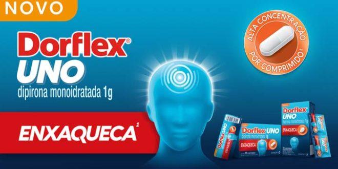 Dorflex inova e lança Dorflex Uno, potente analgésico contra enxaqueca