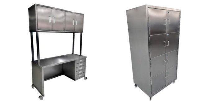 Monthac produz mobiliários e acessórios especiais em aço inox para áreas GMP