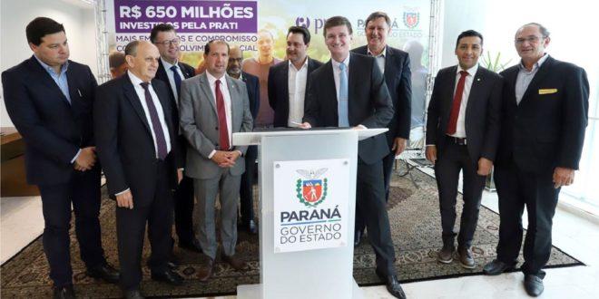 Prati-Donaduzzi investirá R$ 650 milhões no Paraná após parceria com o Governo do Estado