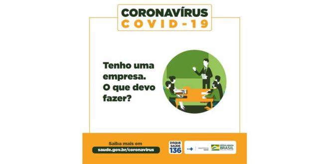 Você tem empresa? Saiba o que fazer para evitar o coronavírus