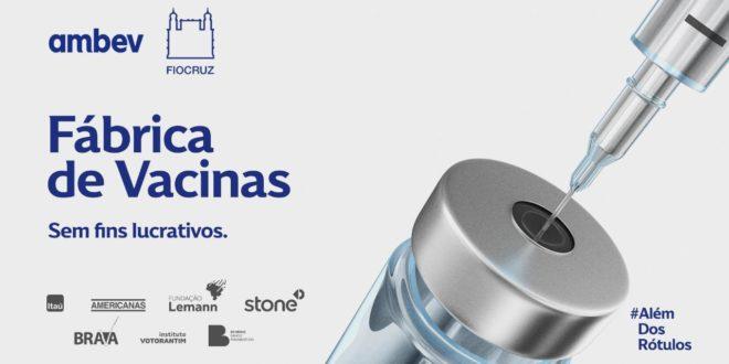 Empresas e fundações vão montar fábrica para produção da vacina contra a Covid-19 e doar à Fiocruz