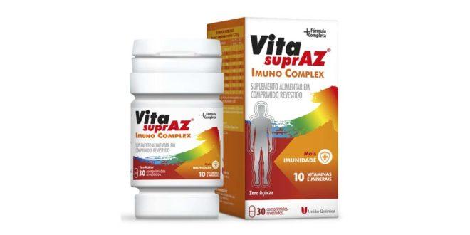 União Química lança Vita SuprAZ Imuno Complex