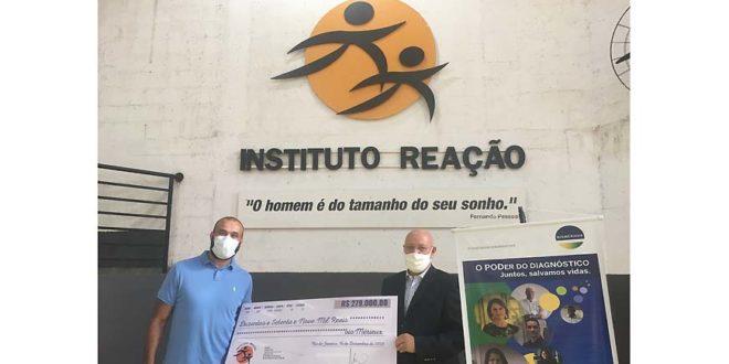 bioMérieux realiza doação para o Instituto Reação, ONG que atua no Rio de Janeiro e em Mato Grosso