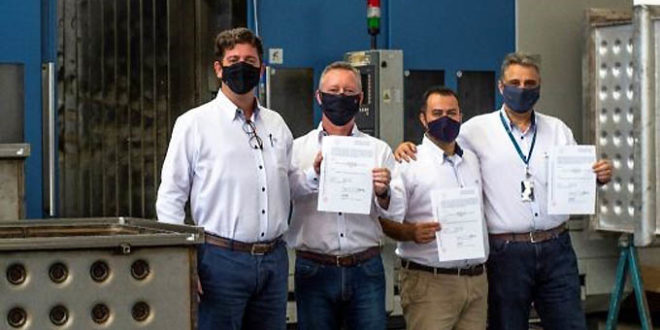 Cisabrasile conquista certificado internacional ASME