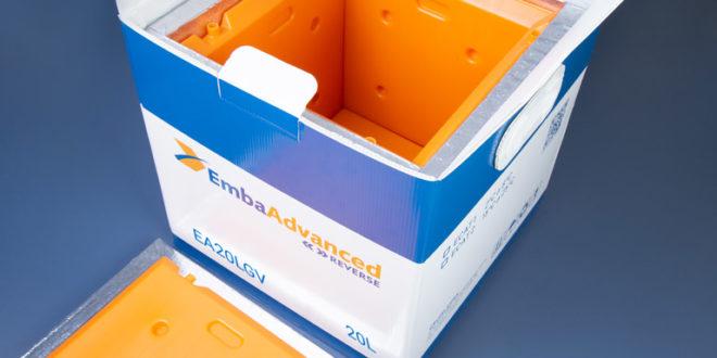 Nova tecnologia para transporte de medicamentos especiais: EmbaAdvanced Reverse