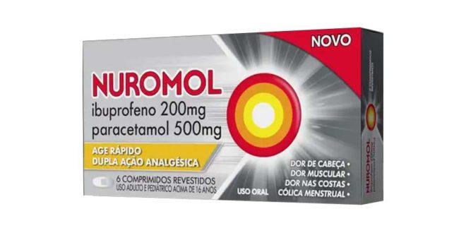 Chega ao Brasil o primeiro analgésico que combina Ibuprofeno e Paracetamol em um só comprimido